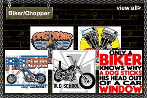 Biker and Chopper