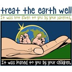 Treat the Earth Well T-Shirts and Gifts