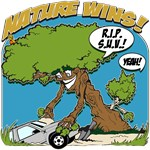 Nature vs. Sport Utility Vehicle T-Shirts and Gift