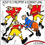 Playing Hockey W/ Contact Lenses