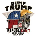 Dump Trump RepubliCAN'T
