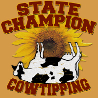 Cow Tipping Champion