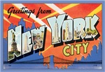 New York City Vintage Postcard
