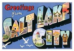 Salt Lake City Vintage Postcard