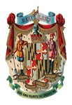 Maryland Vintage Coat of Arms