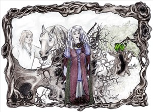 Forest Druids Uprooted, Fantasy Art Gifts