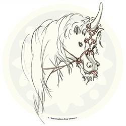 Mischief Unicorn, Fantasy Art Gifts