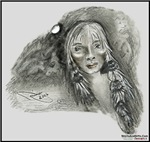 Native American Tribal Warrior Cry, Art Gifts
