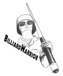 Billiards Warrior, T-shirts design, picture gifts