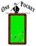 1 Pocket Billiards Master Pool Player Tees For Men