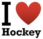 I Love Hockey Light Tee