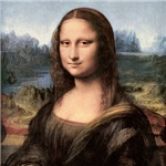 Mona Lisa Painting / Portrait T-Shirts Magnets, Stickers, and more!