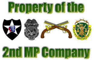 2nd MP Company Items