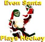 Even Santa Plays Hockey