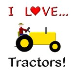 I Love Yellow Tractors
