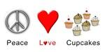 Peace Love Cupcakes