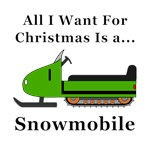 Christmas Snowmobile