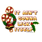 Funny Lick Candy Canes Shirts & Gifts