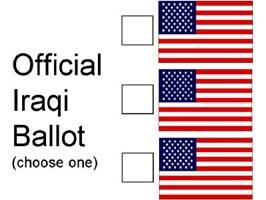Official Iraqi Ballot