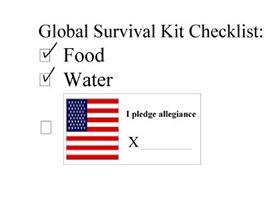 Global Survival Kit Checklist