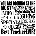 Looking at THE Best Teacher Ever