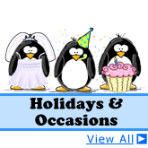 Holidays and Occasions