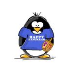 Happy Hanukkah Penguin