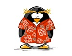 Red Hawaiian Penguin