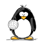 volleyball Penguin