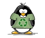 Recycle Penguin