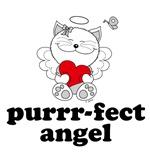 Cat Angel Kitty Purrr-fect