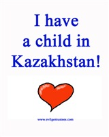 Child in Kazakhstan