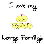 Love my large family