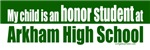 Honor student at Arkham high