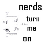 Perfect gift for any wife or girlfriend of a geek or any guy who loves women who talk nerdy. Nerds turn me on with circuit diagram. Great for computer nerds, electrical geeks, etc.