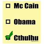 McCain, Obama, Cthulhu