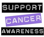 Support Cancer Awareness T-Shirts &amp; Gifts (Purple)