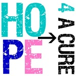 Hope 4 a Cure Thyroid Cancer T-Shirts & Gifts