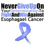 Esophageal Cancer Never Give Up Shirts & Gifts