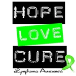 Hope Love Cure Lymphoma Shirts &amp; Gifts