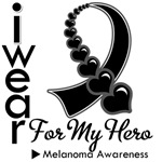 Melanoma Hero Ribbon Shirts & Gifts