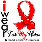 Blood Cancer Hero Ribbon Shirts & Gifts