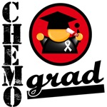 Chemo Grad Bone Cancer Shirts