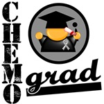 Chemo Grad Brain Cancer Shirts