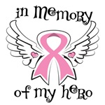 In Memory of My Hero Breast Cancer Shirts