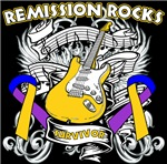 Remission Rocks Bladder Cancer Shirts