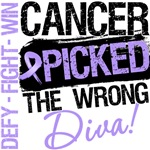 General Cancer Picked The Wrong Diva Shirts
