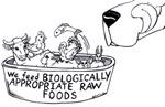 We Feed B.A.R.F. items