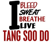 Bleed Sweat Breath Tang Soo Do