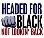 Headed For Black 2 Karate Shirts Gifts Merchandise